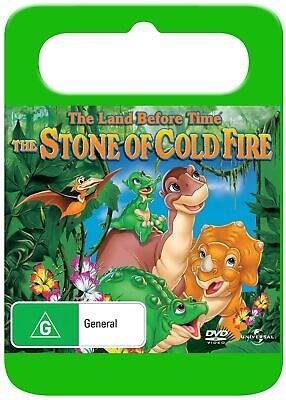 The Land Before Time 7 The Stone of Cold Fire DVD Region 4 NEW