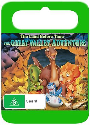 The Land Before Time 2 The Great Valley Adventure DVD Region 4 NEW