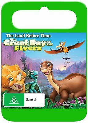 The Land Before Time 12 The Great Day of the Flyers DVD Region 4 NEW