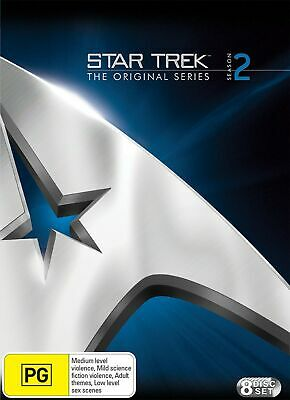 Star Trek the Original Series Season 2 DVD Region 4 NEW
