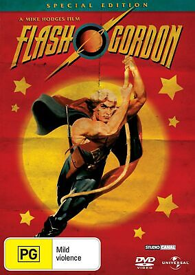 Flash Gordon DVD Region 4 NEW