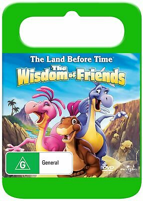 The Land Before Time 13 The Wisdom of Friends DVD Region 4 NEW