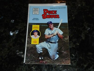 September 1992 Magnum Comics-Brooklyn Dodgers Duke Snider