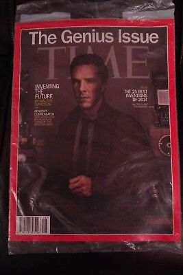 Time Magazine, Benedict Cumberbatch Dr who Sherlock Holmes the Genies issue