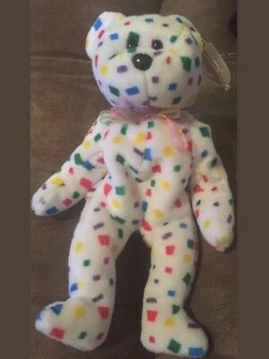 Ty Beanie Baby~TY 2K BEAR~Retired ~ Mint Condition