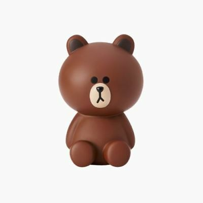 LINE FRIENDS  Character BROWN Figure Coin Bank Money Box 6inch
