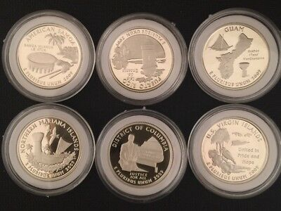 2009 U.S. District of Columbia and Territories Silver Proof Set