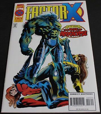 Vintage - Factor X After Xavier The Age Of Apocalypse Marvel Comics