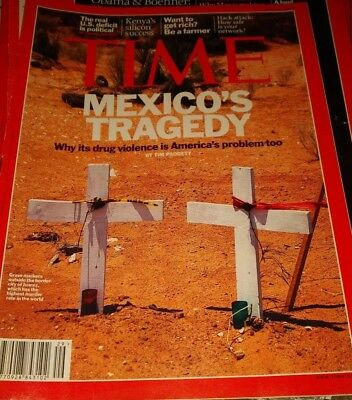 Time Magazine July 11th 2011 Mexico's Tragedy