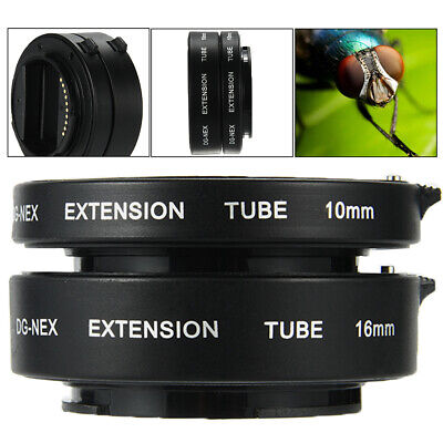 Macro Extension Tube for Sony E-Mount NEX-3 NEX-6 NEX-5R NEX-7 A7S A7R A7 LF434
