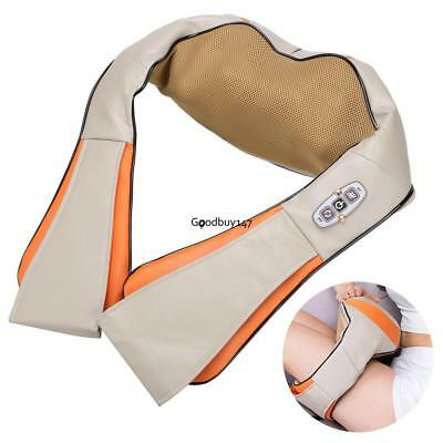 Massager Kneading Neck Low Back Pain Relief Shoulder Heat Health Care Pillow
