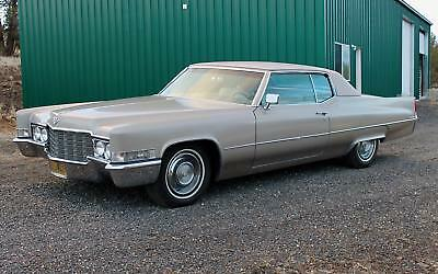 1969 Cadillac DeVille  1969 Cadillac Coupe de Ville, 74K MILES, WONDERFUL RUST-FREE SURVIVOR!
