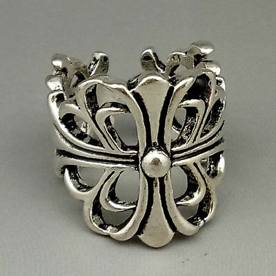 Chinese Exquisite Tibetan silver Fashion Ring