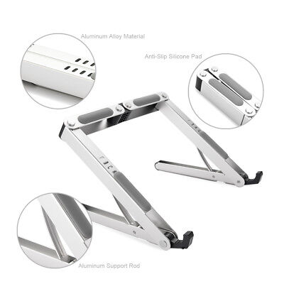 Laptop Stand Height Multi-Angle Adjustable Riser Foldable for Notebook Desk iPad