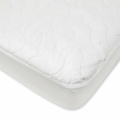 Waterproof Crib and Toddler Pad Cover by American Baby Company, White, Twin