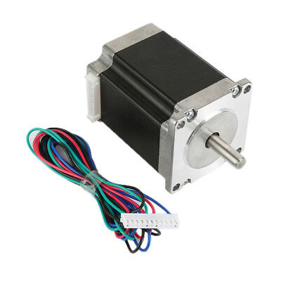 57step Stepper Motor Nema23 76mm 4wire 1.8Nm 3A 270oz in Bipolar Fr 3D Print H4#