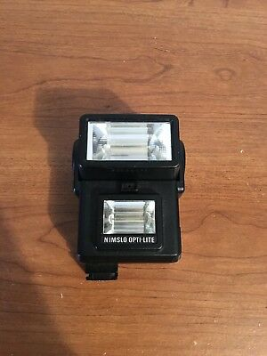 NIMSLO OPTI-LITE Flash for Nimslo 3D camera - Tested and Working