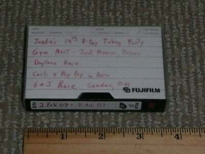 BLANK / RECORDED UNSEARCHED VIDEO TAPE, Hi8 MP * FUJI