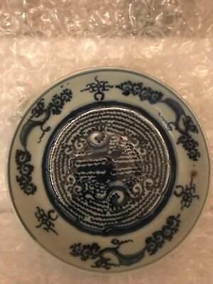 """8"""" Chinese Blue and white Porcelain Plate"""
