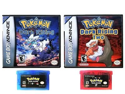 POKEMON CUSTOM FAN Game Rom Hack CIA or GBA GBC Bundle (43