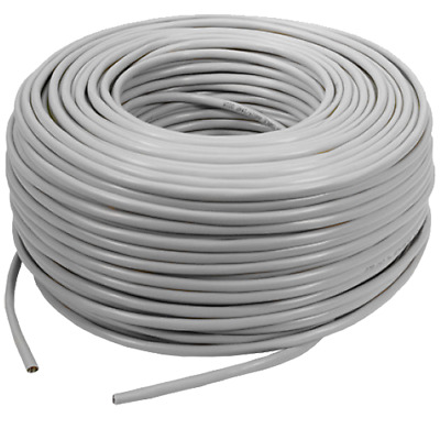 4 x REELS 100m CAT6 CCA GREY Indoor or Outdoor Ethernet Network Cable UTP 400M