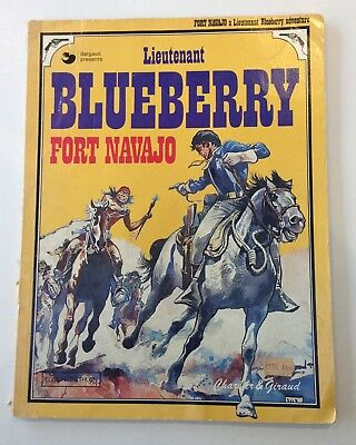 Lieutenant Blueberry Fort Navajo 1977 Egmont in English by Charlier & Giraud