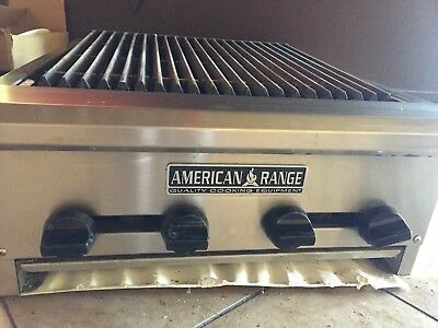 American Range Charbroiler Grill AERB-24 NSF commercial