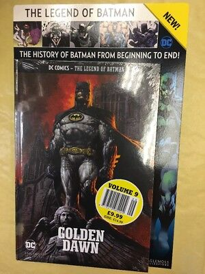 Legend Of Batman Dc Comics Graphic Novel Collection Issue 9 Golden Dawn Pw Fn