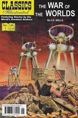 Classics Illustrated - War Of The Worlds - comic book - 2008 - UK FREEPOST