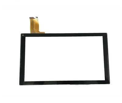 CRISTAL DIGITALIZADOR TACTIL TOUCH SCREEN PARA CARREFOUR CT1000 / CT1005 Negro