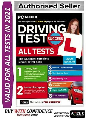 2019 Driving Theory Test / All Tests & Hazard Perception PC DVD NEW 2019*ATpc