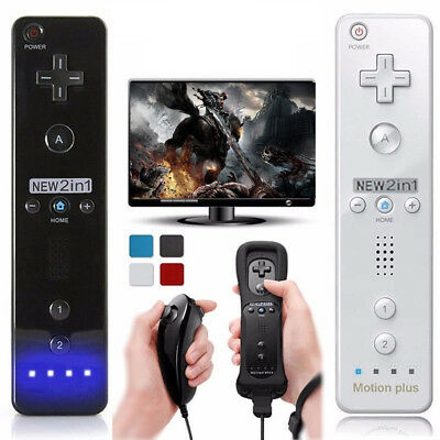 Hot  Wiimote Built in Motion Plus Inside Remote Controller For Controller wii