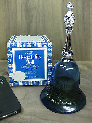 Vintage 1976 Avon Hospitality Bell With Moonwind Cologne