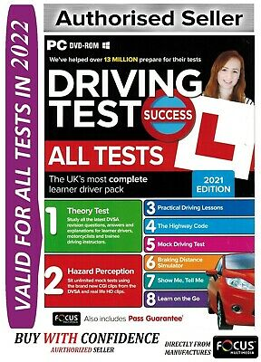 2018 Driving Theory Test All Tests & Hazard Perception PC DVD NEW - wt*atpc