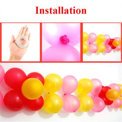 5M Balloon Arch Tape Rolls-Party Decoration Celebration Garlands Strings