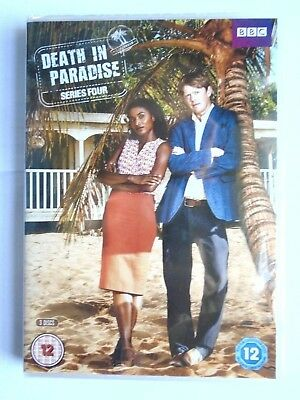 Death In Paradise - Season Series 4  DVD  NEW & Sealed  WD