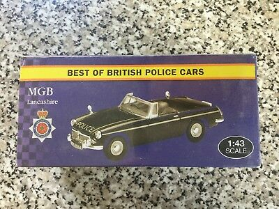 Atlas Editions - MGB Lancashire 'Best of British Police Cars' - Model Scale 1:43