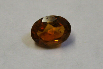 Loose Madeira Red Citrine Natural Gem 9X7Mm Oval Cut Faceted 1.5Ct Gemstone Ci25