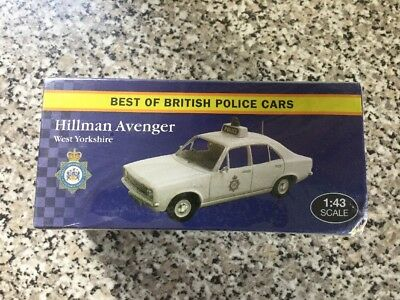 Atlas Editions Hillman Avenger Best of British Police Cars' - Model Scale 1:43
