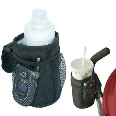 Baby Pushchair Pram Stroller Buggy Storage Bottle Cup Holder Organiser Phone Bag