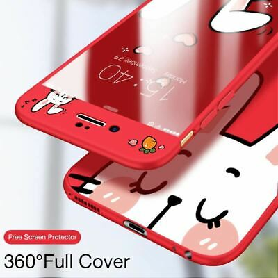 360 Full Cover Case For iPhone 7 8 Silicone Case