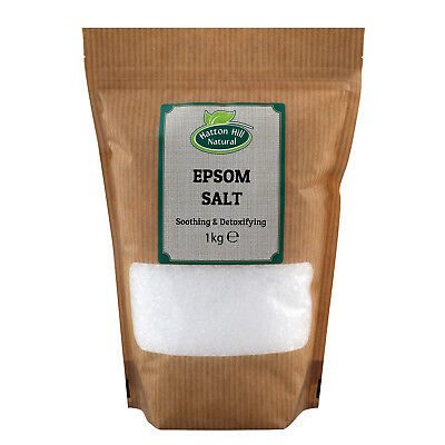 Epsom Salt | Magnesium Sulphate | BP Grade | Resealable bag