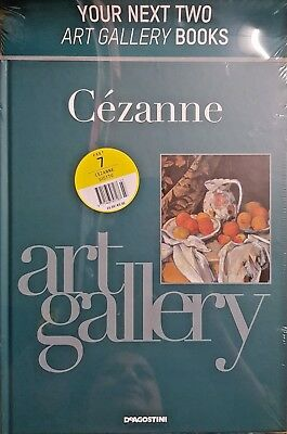 Art Gallery Artists Book Collection = # 7 = CEZANNE + GIOTTO