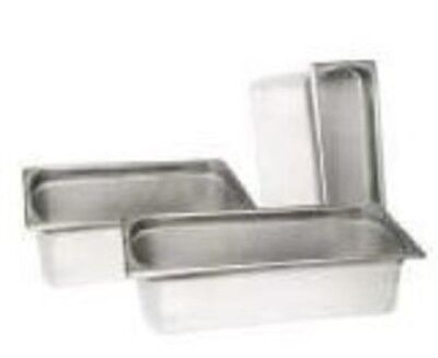"""Steam Table Pan Full Size 4"""" Deep Stainless Steel Catering Buffet Food Holder"""
