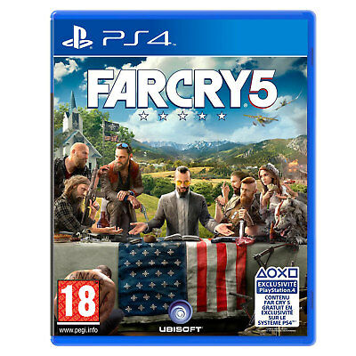 Far Cry 5 Ps4 - Code Dematerialise (No Cd)