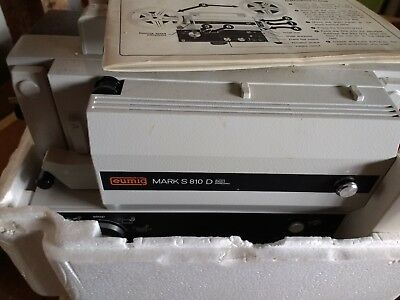 Eumig Mark S 810 D - Super 8 Single 8 Standard 8 Film Projector, with sound