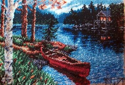 "Craftways  Latch Hook Rug  Kit  ""lakeside Dawn"""
