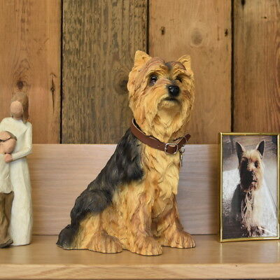 Yorkshire Terrier Dog  Urn pet memorial casket will hold the ashes of your dog
