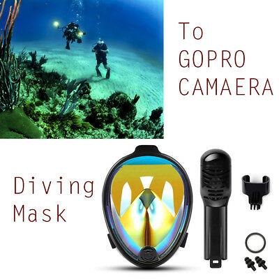 Wimm Full Face Anti-Fog&Leak Mask Surface Diving Snorkel Scuba Mask S/M/L/XL DER