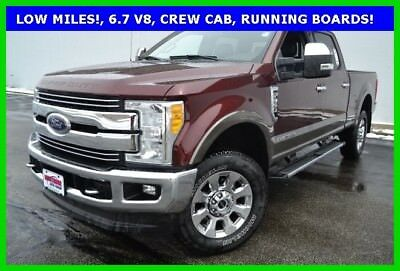 Ford F-350 Lariat 2017 F-350 Lariat Turbo Diesel 6.7L V8 4x4 Super Crew Premium 5th wheel